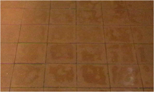Example of a floor after it has had ever clean used on it